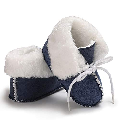 Pictures of Fnnetiana Baby Soft Sole Anti-Slip Winter Blue 5