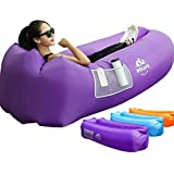 Wekapo Inflatable Lounger Air Sofa Hammock-Portable,Water Proof& Anti-Air Leaking Design-Ideal Couch for Backyard Lakeside Be