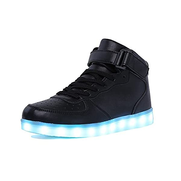 557ca008f6ad IGxx High Top LED Light Up Shoes LED Sneakers USB Recharging Shoes Glowing  Luminous Flashing Shoes – THE LED SHOE STORE
