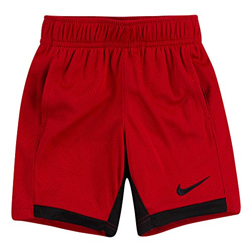 New Nike elastic waist dri fit shorts baby boy blue 2T 3T performance Just Do It