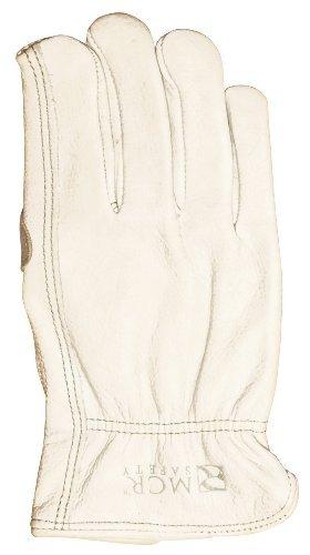 Memphis C3211DPL Road Hustler Premium Grain Leather Driver Gloves, Large by Safety Works