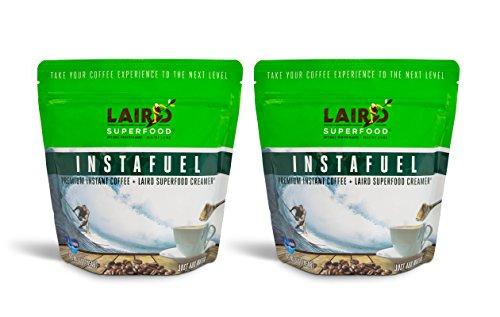 Laird Superfood Instafuel Premium Instant Coffee Plus Creamer - 2 lb (Bag 6 Formula Ounce)