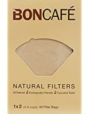 Boncafe Filterbags Natural, 1X2, 40 Count