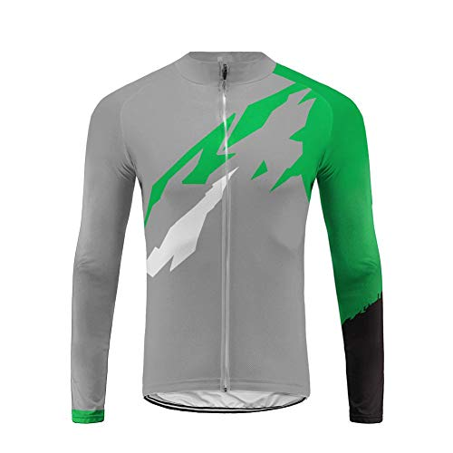 Uglyfrog Pro Team Newest Designs MTB Men Summer Long Sleeve Autumn Bike Cycling Jersey Clothes Bicycle Triathlon Shirt Wear Clothing (Team Gb-triathlon)