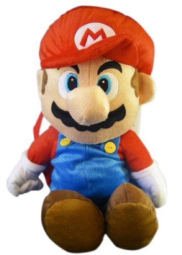 [해외]Nintendo 19in Stuffed Super Mario Plush Backpack - Mario Backpack Plush / Nintendo 19in Stuffed Super Mario Plush Backpack - Mario Backpack Plush