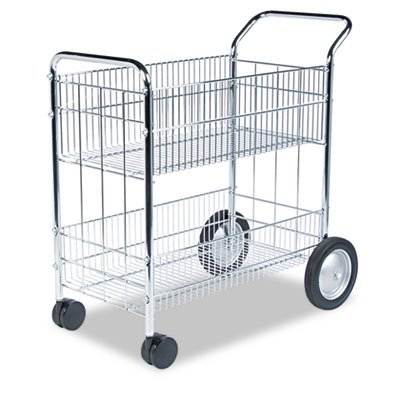 Fellowes Wire Mail Cart (Fellowes Cart Wire Mail)