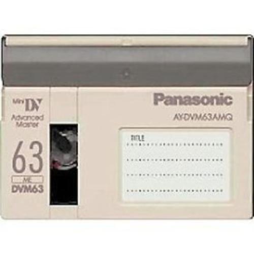 AY-DVM63MQ Mini-DV Master Quality Cassette, 63 Minutes