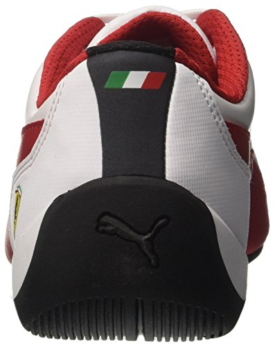 Puma Unisex-Erwachsene SF Drift Cat 7 Sneaker Weiß (White-Rosso Corsa- Black)