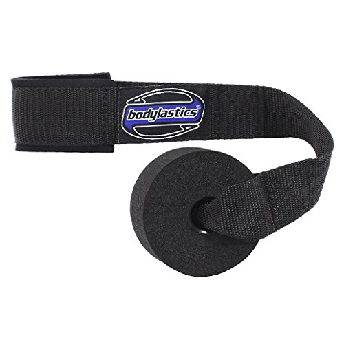Bodylastics HEAVY DUTY Resistance Bands Door Anchor Attachment with Solid Nylon core, dense foam (won't hurt your door), super strong nylon webbing and neoprene padding