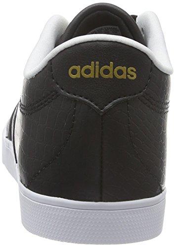 Negbas para Dormat W de Courtset Mujer Negbas Deporte Negro Zapatillas adidas w8qHxgn1X