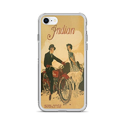 - Vintage poster - Indian Motorcycles 0478 - iPhone 8 Phone Case