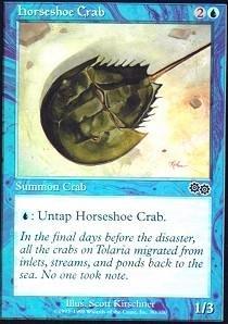 (Magic: the Gathering - Horseshoe Crab - Urza's Saga)