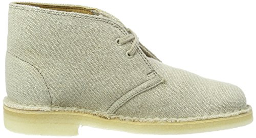 Desert para Clarks Mujer Natural Beige Boot Botas Canvas 1HE4na