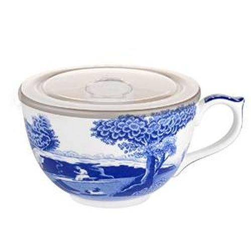 Potrmeirion Blue Italian Jumbo Cup with Lid 1622456 (Mug Ceramic Jumbo)