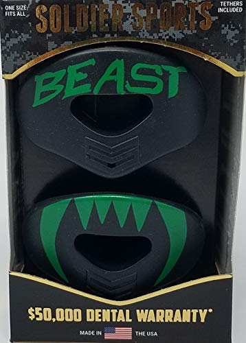 Soldier Sports New Green Beast Elite Air Lip Protector Mouthguard 2-Pack – DiZiSports Store