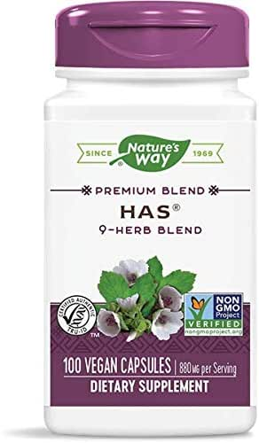 HAS Original, 100 Caps by Nature's Way (Pack of 3)