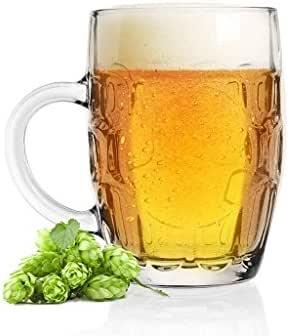 SABLES & REFLETS 3 Vasos para cerveza, jarra de cerveza, 500 ml, diseño tradicional: Amazon.es: Hogar