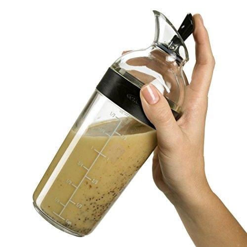OXO Good Grips Salad Dressing Shaker, Black