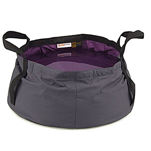 Outdoor Camping Hiking Folding Wash basin Bucket Travel Bag