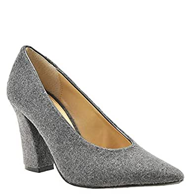 J. Renee Womens Madisson Grey Size: 10 US