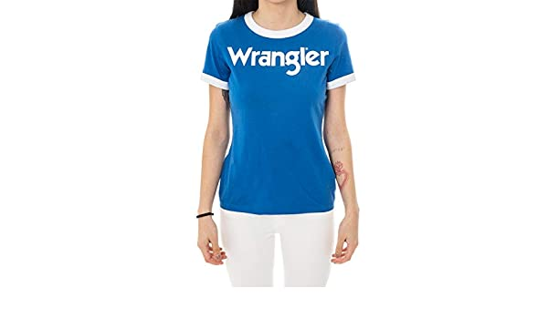 Wrangler Ringer Tee T-Shirt Donna