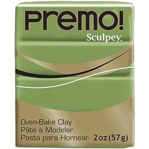 Premo Sculpey Polymer Clay Spanish Olive - 2 oz.