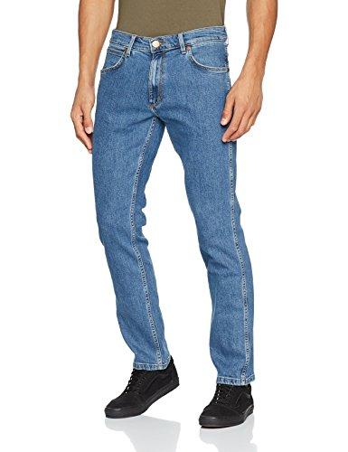Wrangler Greensboro Midstone 091 Hombre Vaqueros Straight Leg Azul para rrOnqxAwZd