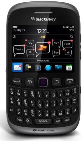 BlackBerry Curve 9310 Prepaid Phone (Boost Mobile)