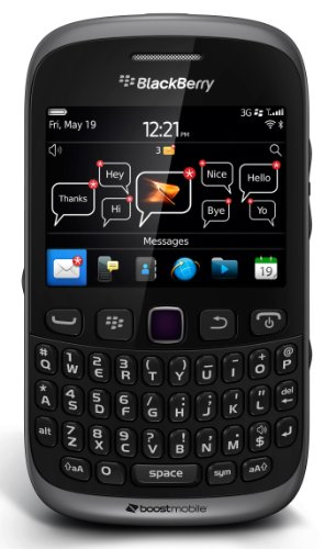 BlackBerry Curve 9310 Prepaid Phone (Boost Mobile) ()