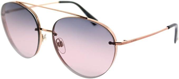 Valentino Sunglasses Women V605 S Havana //Gold  Authentic Free Shipping