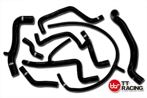 SILICONE RADIATOR HOSE KIT Fits VW GOLF GTI MK3 A3 VR6 2.8 2.9 V6 AAA ABV 94-98 Black (Abv Part)