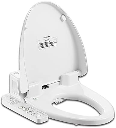 Amazon Com Topsed Intelligent Toilet Bidet Toilet Seat Cover Zjf01 Continuous Warm Air Drying Heating Ringsimple And Comfortable General Slow Down Comfort Antiseptic European Home Kitchen