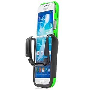 iCues from49 360 Pantalla táctil Grado carcasa verde para Samsung Galaxy S4