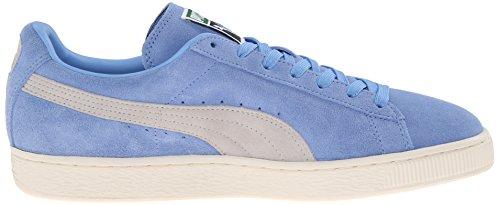 PUMA Adult Wildleder Klassischer Schuh Kleiner Junge Blau / Grau Violett / Whisper Weiß