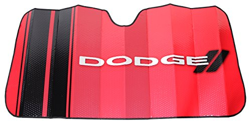 Plasticolor 003705R01 Dodge Red Windshield Sunshade