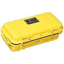 Pelican Micro Case 1030 - Solid Carabiner Loop Yellow Dry 1030-025-240