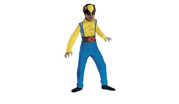 Marvel - Disfraz de lobezno para niño (de 3/5 años): Amazon.es ...