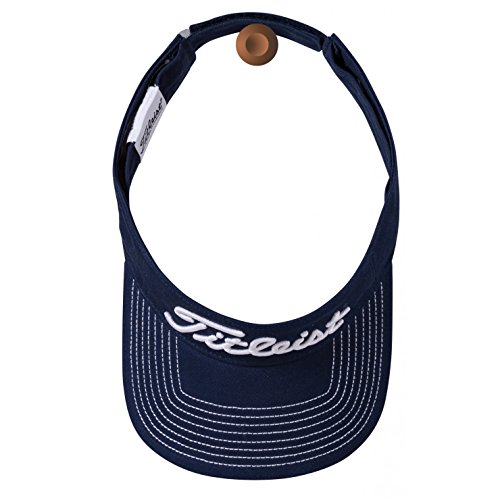 Titleist Men's Contrast Stitch Golf Visor Navy - Contrast Visor