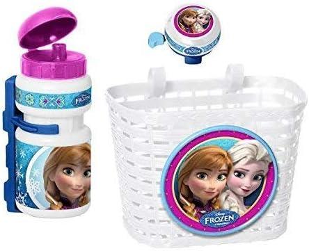 3piezas Disney Frozen Frozen de bicicleta infantil cesta + ...