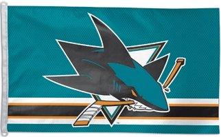 (San Jose Sharks 3 x 5 Flag)