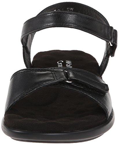 Wedge Nappa Sandal 3 Black Women's Cradles Sky Walking gqTfSBwx