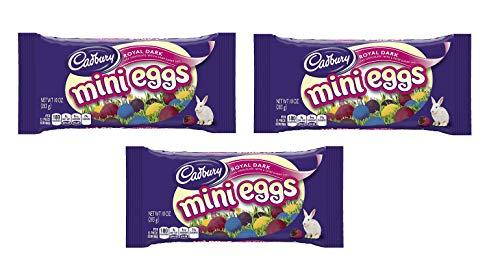 Cadbury, Royal Dark, Mini Eggs, 10 oz (Pack of 3)
