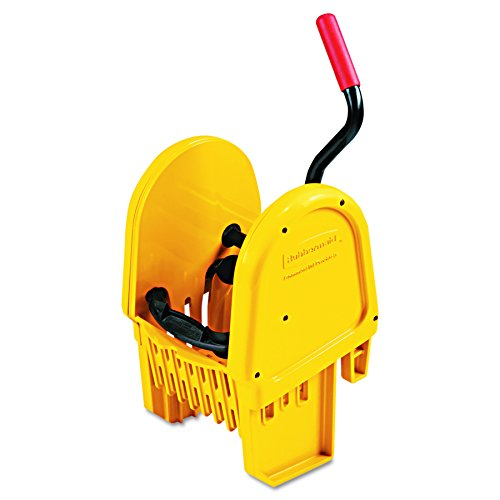 Rubbermaid Commercial RCP 7575-88 YEL WaveBrake Down-Press Wringer, Yellow by Rubbermaid Commercial