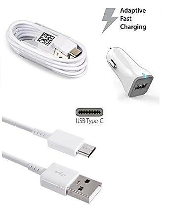 we3dcell rápida USB cargador de coche tipo C, adaptación ...