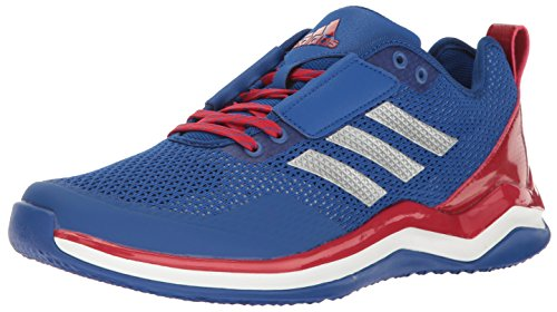 (adidas Performance Men's Speed Trainer 3.0 Shoe, COLLEGIATE ROYAL/METALLIC SILVER/POWER RED, 10 Medium US)