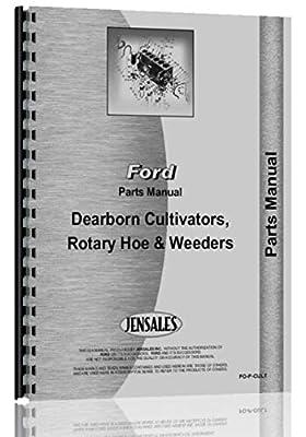 Dearborn 13-1, 13-2, 13-3, 13-4 Row Crop Cultivator Parts Manual