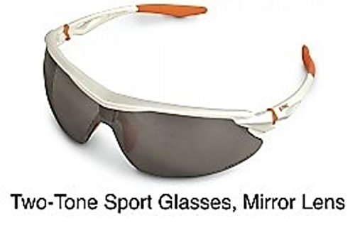 Stihl 7010-884-0368 OEM Two-Tone Sport Safety Glasses Silver Mirror Lens -by# greatbrands, #UGEIO30371555586003