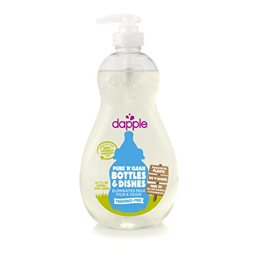 Dapple Baby Bottle And Dish Liquid Fragrance Free Liquid