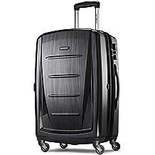 "Samsonite Winfield 2 Hardside 24"" Luggage, Brushed Anthracite"