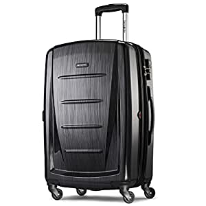 "Samsonite Winfield 2 Hardside 24"" Luggage, Brushed Anthracite"